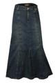 Buy Womens full length denim skirts UK.