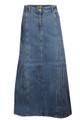 Womens Ladies Denim Skirt
