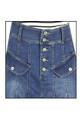 women's regular denim full skirts