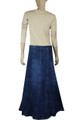 Womens Plus-Size Jeans Skirts online