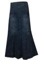 plus size denim skirts online