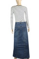 Womens Plus Size Maxi Skirt