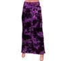 Womens Full Length Denim Elastic Skirts