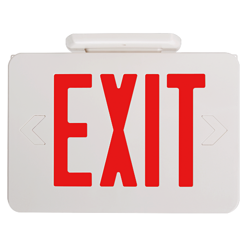 LED Exit Sign w/ Battery Back-up  sc 1 st  Spectrum Supply Co. & LED Exit Sign w/ Battery Back-up - Spectrum Supply Co.