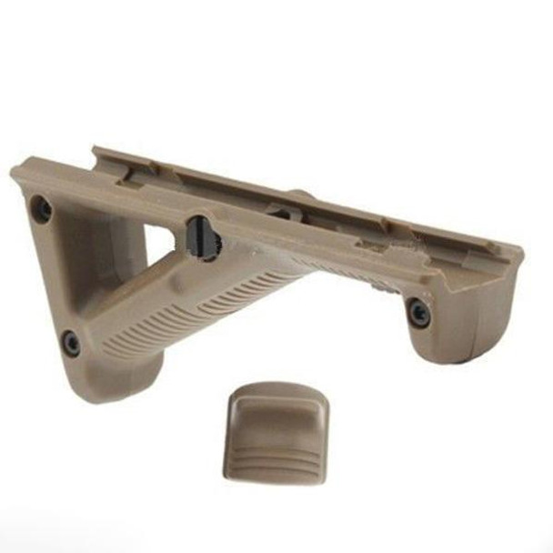 Angled Foregrip Hand Guard Front Grip for Picatinny Quad Rail TAN AR15 223 5.56