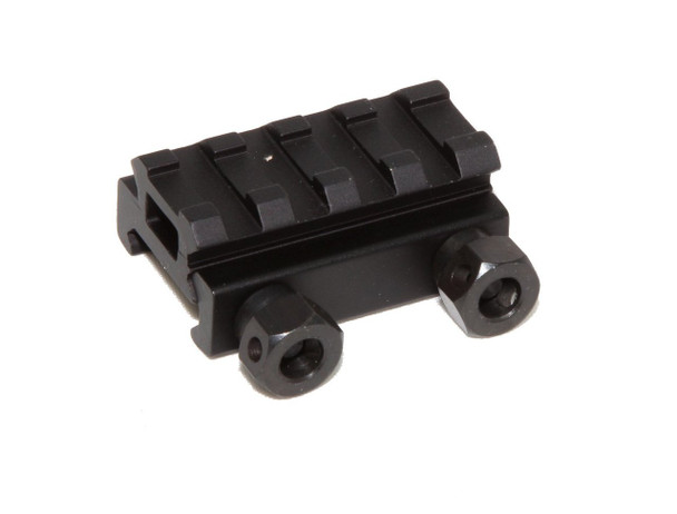 "1/2"" RISER 4-Slot Low Riser WEAVER PICATINNY Scope Mount Rail AR15 223 5.56, AR15 Handguard"