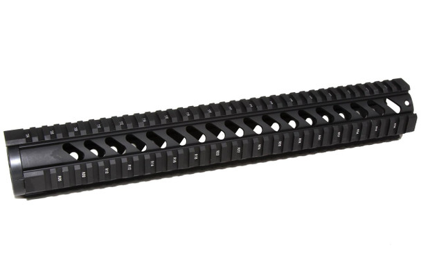 "15"" Quad rail Handguard One Piece Free Float AR15 223 5.56 
