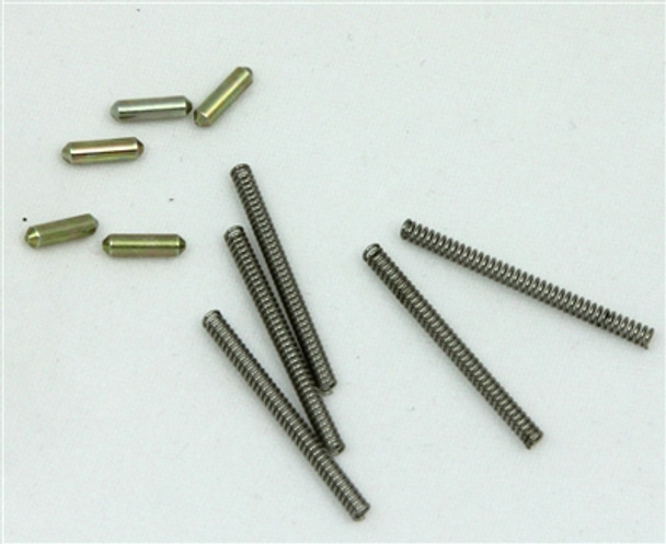 5-SET .223 5.56 DETENTS AND SPRINGS for PIVOT PIN AND TAKEDOWN PIN