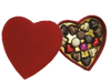 Deluxe red heart box - 15 chocolates $67.50