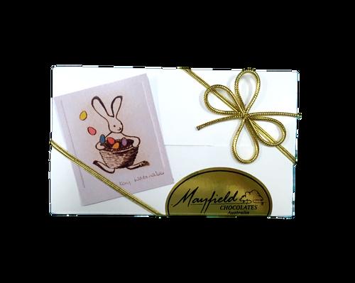 White Easter gift box - 8 chocolates $17. 50