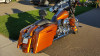 Color Matched 4.5 inch Stretched Extended Saddlebags for Harley Davidson Touring '14-Up (Click for Options)