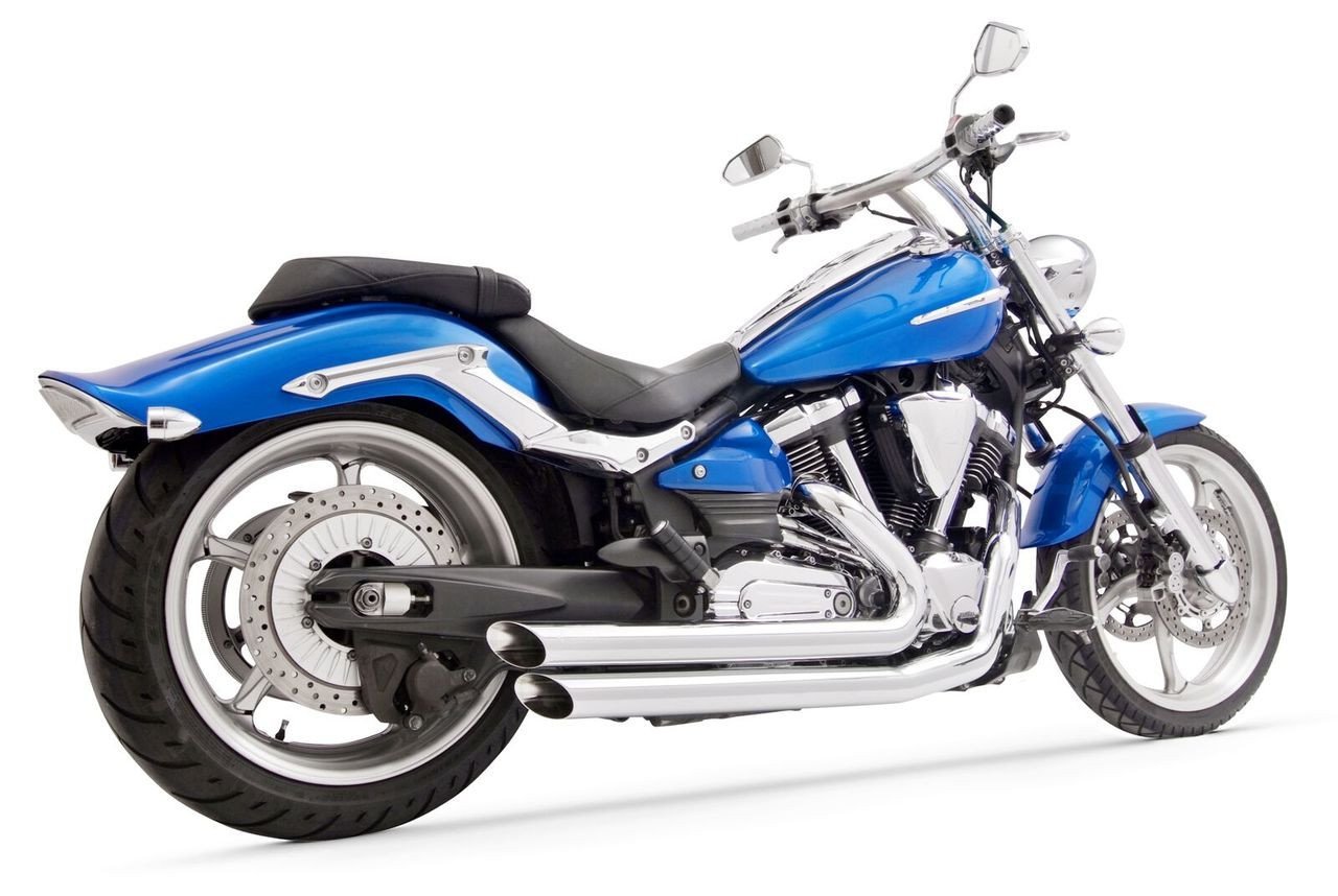 Freedom Performance Amendment Slash-Out Exhaust for '08 & Up Yamaha ...