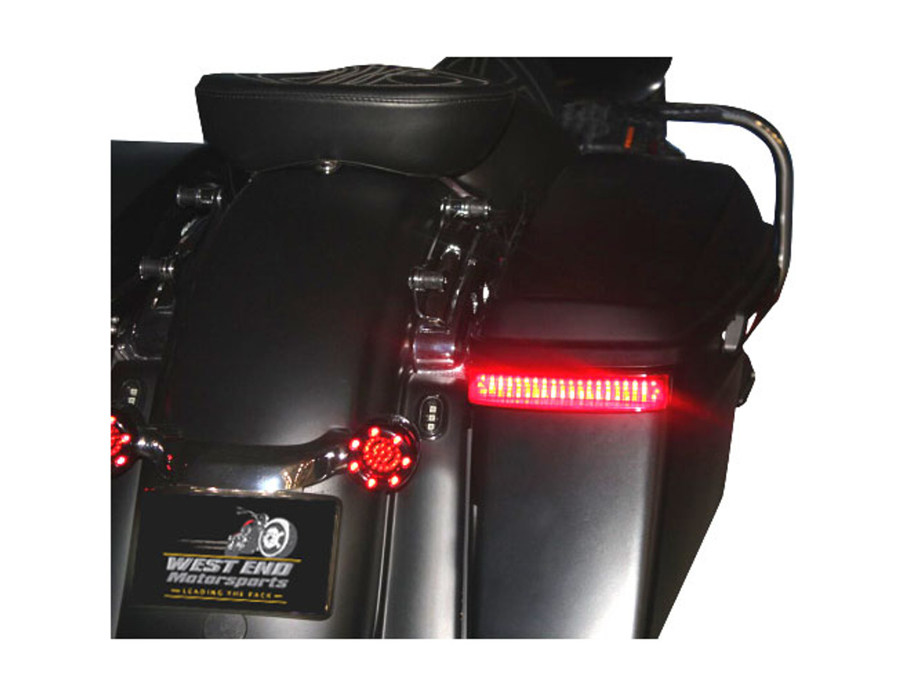 Custom Dynamics Saddlebag Lights For Harley Davidson 14 Up Oem
