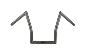 """Hard Drive 1 Inch  Z Handlebars for '81 and Earlier H-D  -Black, 11"""""""