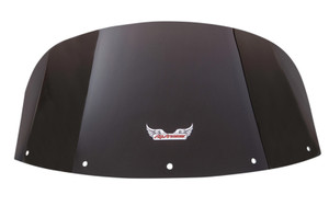 "Slipstreamer Replacement Windshield for 2011-Up Vaquero 1700  - 10"", Smoke"