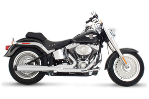 Rinehart Exhaust  2-into-1 Exhaust System for Softails '86-17