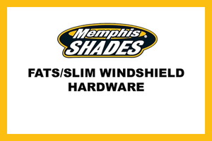 Memphis Shades Fats/Slim Windshield Mounting Hardwarefor Victory Vegas (All models) '04-13  Will not fit High Ball