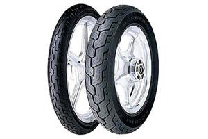Dunlop Harley Davidson D402 Tires FRONT-MH90-21BLK  54H Black -Each