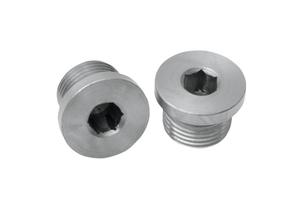 O2 Sensor Plugs by Bassani  18mm x 1.5 -Pair