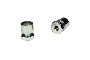 Mustang Seats Mounting Nuts NEEDED to Replace a 1pc Baseplate Seat with a Mustang Solo or 2pc Baseplate Seat  -Pair