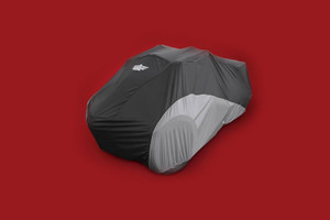 Big Bike Parts UltraGard Cover for Can Am F3 Spyder Black Over Charcoal -Each