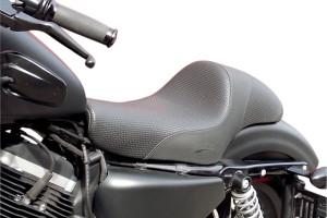 Saddlemen Americano Cafe Seat for '04-13 XL Models w/ 3.3 Gallon Tank -Modern, Smooth