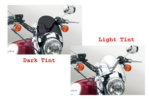 National Cycle Flyscreen Windshield for Legend TT '99-02 & Adventurer '96-02 -Light Tint