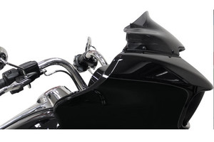 "Klock Werks 9"" Sport Low Flare Windshield for '15 Road Glide Custom and Road Glide Special Dark Smoke"