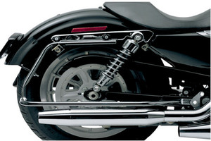 Cycle Visions Bagster Black Saddlebag Mounts for '04-13  XL (except 883N/1200N/1200V) Saddlebags sold separately