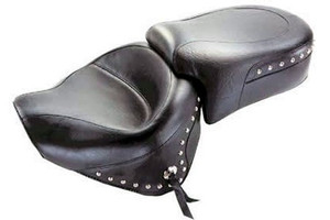 Mustang  Two-Piece Wide Seat  for Raider '08-Up  -Studded