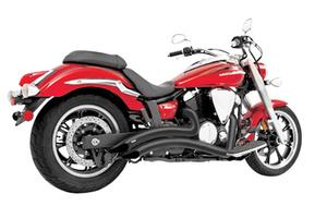 Freedom Performance Sharp Curve Radius Exhaust for '03-16 Jackpot/Hammer -Black