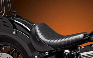 LePera  Bare Bones Solo Seat for '11-13 FXS & '12-17 FLS  -Pleated