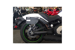 Easy Brackets Detachable Saddlebag Supports  for '15-Up Vulcan 650 S/ABS