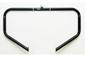Lindby Custom Unibar for '91-15 Dynas w/ Mid Controls  (except FXDWG/FXDX/FXDS)  -Gloss Black