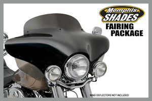 Memphis Shades Complete Batwing Fairing Package for '15 -16 FLRT Freewheeler  -Choose your height/style -Choose your color