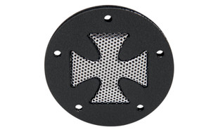 *CLEARANCE* Drag Specialties Accent Style Points Cover for HD Twin Cam '99-11 -Cross Style
