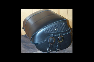 Leather Pros Trunk Bag -Large, Basket Weave & Braiding