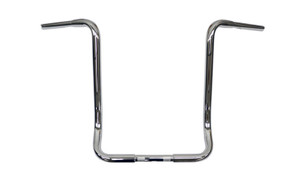 L.A. Choppers 1.25 In. Ape Hangers for '96-Up FLHT/FLHX & FL Trike THROTTLE-BY-WIRE-18 Inch, Chrome