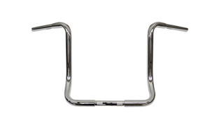 L.A. Choppers 1.25 In. Ape Hangers for '96-Up FLHT/FLHX & FL Trike THROTTLE-BY-WIRE-14 Inch, Chrome