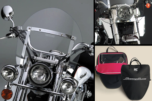 *CLEARANCE* National Cycle SwitchBlade Windshield for Certain Honda Models - Shorty Style (Click for Fitment)