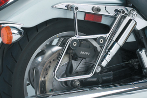 National Cycle Mount Kit for Cruiseliner Hard Bags Heritage Softail Deluxe '05-12 -Chrome