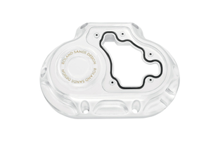 Roland Sands  6-Speed Clarity Transmission Side Cover for '07-13 Softail, FL & '06-13 Dyna repl. OEM #37116-06 -Chrome