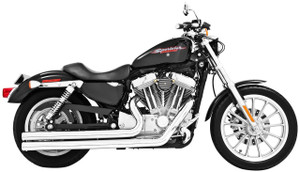 *CLEARANCE* Freedom Performance Exhaust Independence LG for '04-13 XL -Black FOR FORWARD CONTROLS ONLY