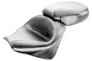 Mustang  Two-Piece Wide Seat  for VTX1300R '02-Up  -Vintage