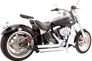 Freedom Performance Exhaust Declaration Turn-Out System for '08-11 Rocker & '13-up Breakout -Chrome