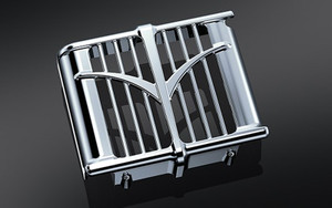Kuryakyn Oil Cooler Cover for 2014-Up Indian Models - Sold Each