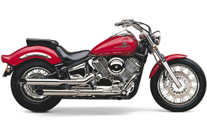 Cobra Slip-On  Slash-Cut Mufflers  for V-Star 1100 '06-up (ALL) & '04-05 CA Models