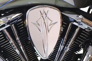 Barons Custom Big Air Kit for Kawasaki Models Pinstripe Chrome Click for Fitment