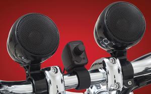 Big Bike Parts Waterproof Bluetooth Stereo System -Black