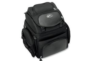Saddlemen BR1800EX Back Seat/Sissy Bar Bag-Plain